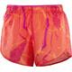 Salomon Agile Shorts Women nasturtium/pink yarrow/bird of para